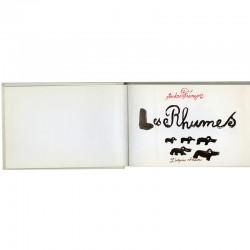 """album jeunesse d'André François """"Les rhumes"""" 1966"""