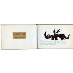 """textes et dessins d' André François pour """"Les rhumes"""", 1re édition, 1966"""