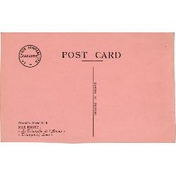 Max Ernst, Le triomphe de l'amour, carte postale surréaliste, 1937