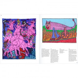 catalogue de l'exposition de Robert Combas à la Collection Lambert, Avignon, en 2017