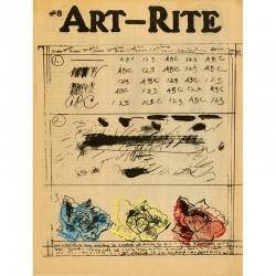 ART-RITE, numéro 8, revue éditée par Walter Robinson et Edit DeAk, 1975