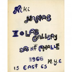 Niki de Saint Phalle, Iolas Gallery, New York, 1966