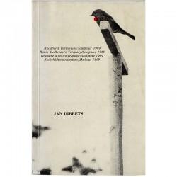 Domaine d'un rouge-gorge / Sculpture 1969 (Robin Redbreast's Territory) livre d'artiste de Jan Dibbets