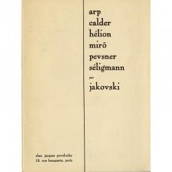 Jakovski, Six essais, 1937