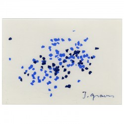 sérigraphie originale sur PVC signée au feutre par Jef Gravis