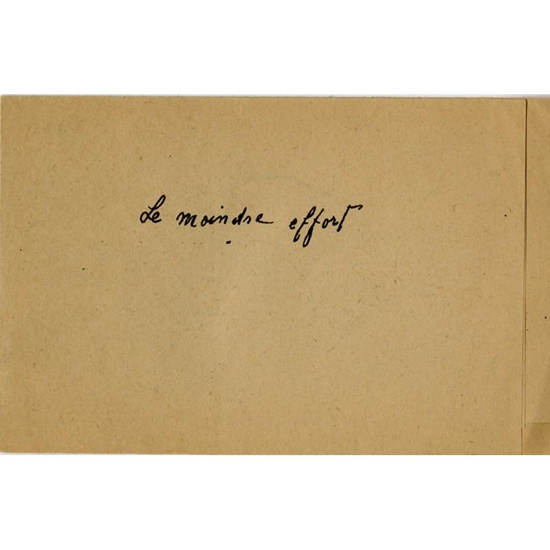 Francis Picabia, Le moindre effort, 1950