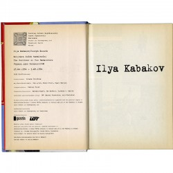 double exposition d'Ilya Kabakov et Joseph Kosuth au Centrum Sztuki Współczesnej Zamek Ujazdowski de Varsovie