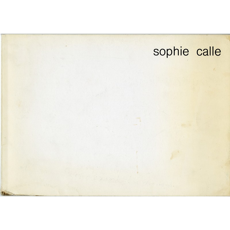 Sophie Calle, A.P.A.C., Nevers, 1985