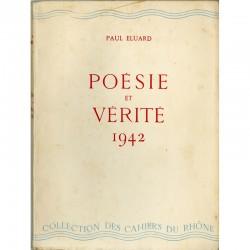 Paul Eluard, Poésie et vérité 1942