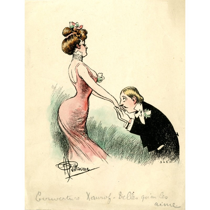 Illustration de Paul Guillaume Telles qu'on les aime