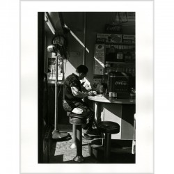Tirage argentique de Louis Stettner, Diner, New York
