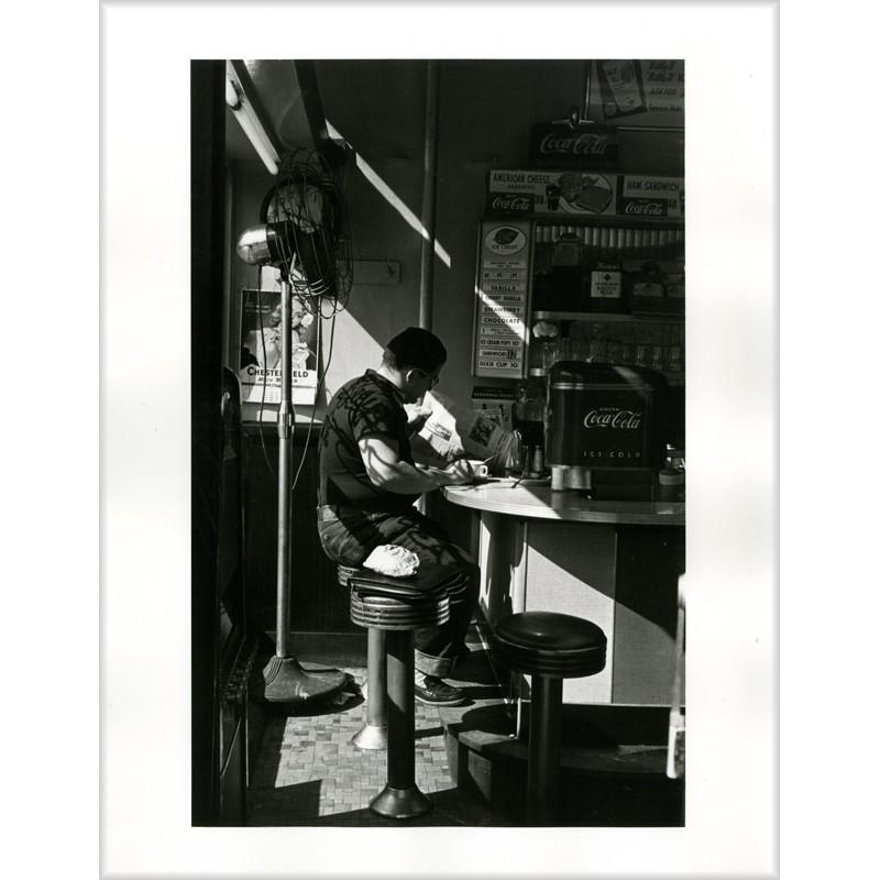 Tirage argentique de Louis Stettner, The Diner, New York