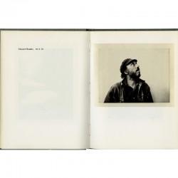 Richard Hamilton photographié au Polaroid par Edward Rusha