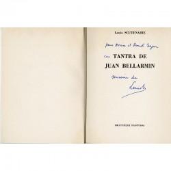 envoi autographe de Louis Scutenaire à Aviva et Amiel Najar
