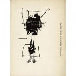 Louis Scutenaire, dessins de la couverture réalisés par Gianni Bertini
