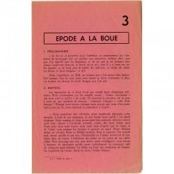 """tract de Tom Gutt  """"Épode à la boue"""" 1963"""
