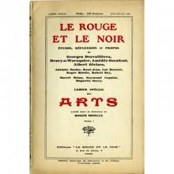 Revue Le Rouge et le Noir, Cahier spécial Art, 1929