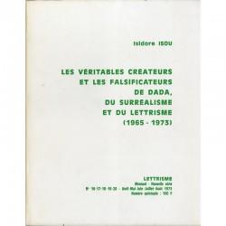 Isidore Isou, revue Lettrisme, avril-mai-juin-juillet-août 1973
