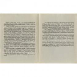 texte emblématique de la Figuration Narrative rédigé par Gilles Aillaud, 1965