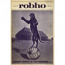 revue Robho 5-6, dirigée par Julien Blaine et Jean Clay, 1971
