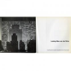 """catalogue de l'exposition photographique """"Mies Van der Rohe 1886-1969"""""""