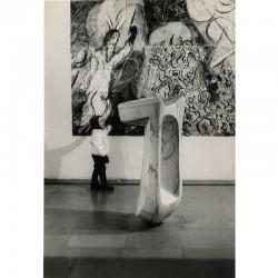 Pierre Tairraz, photo d'une céramique de Marc Chagall