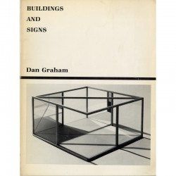 Dan Graham, Buildings and Signs, 1981