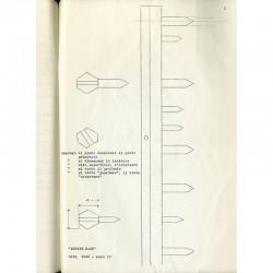 exposition de Gina Pane, galerie Frantzp, en juin 1970
