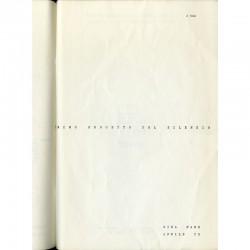 Primo progetto del silenzio, Gina Pane, 1970