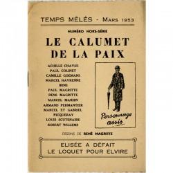 René Magritte, illustrations pour la revue Temps mêlés, 1953