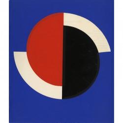 lithographie 3 couleurs de Sonia Delaunay, 1967