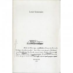Louis Scutenaire, Le monument de la guenon, 1979