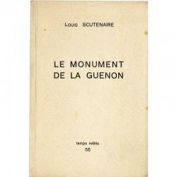 Louis Scutenaire, Le monument de la guenon, 1962