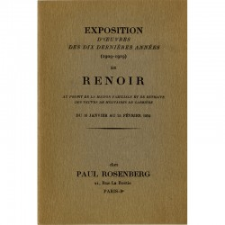 Auguste Renoir, Paul Rosenberg, 1934