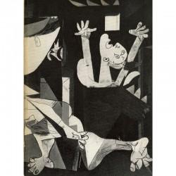 Pablo Picasso, Guernica, Stedelijk Museum, Amsterdam, 1956