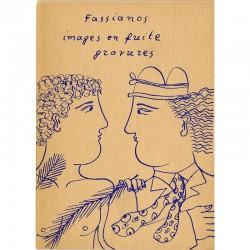 Fassianos, Images en fuite, galerie Iolas, 1974