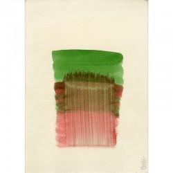 """aquarelle originale sur papier, de Christine Piot, signée """"Piot"""" à l'aquarelle en pied à droite"""