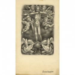 """Gaston Goor, dessin original pour """"Les amours"""" d'Ovide, Flammarion, 1953"""