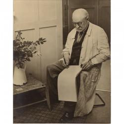 Brassaï, Henri Matisse dans son atelier, 1939