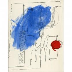 carton d'invitation pour le vernissage de l'exposition de Takis à la galerie Maeght à Paris, le 19 novembre 1981