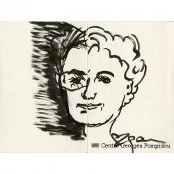 Agam, dessins originaux au feutre, 1980