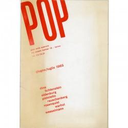 exposition POP galerie Gian Enzo Sperone, Turin, 1965