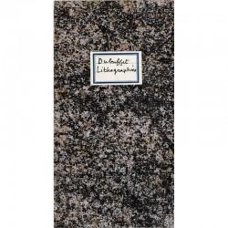 Jean Dubuffet, Lithographies, Berggruen, 1960, couverture de Mourlot