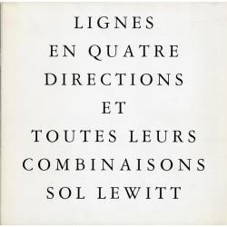 Sol Lewitt, Lignes en quatre directions et toutes leurs combinaisons, 1983