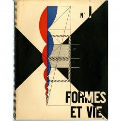 couverture du n°1 de la revue FORMES ET VIE, Le Corbusier, Fernand léger