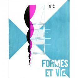 couverture du n°2 de la revue FORMES ET VIE, Le Corbusier, Fernand léger