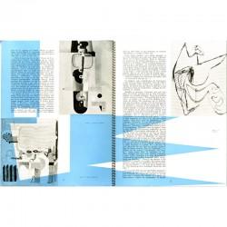 double page intérieure du n°1 de la revue FORMES ET VIE