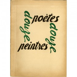 12 poèmes accompagnés chacun d'une lithographie ou d'une gravure originale, numérotées et signées au crayon 1950
