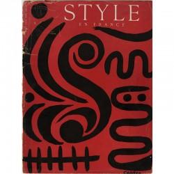 couverture originale de Calder, revue Style en France, 1947