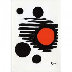 exposition d'Alexander Calder, Galleria del Naviglio, Milan, 1964
